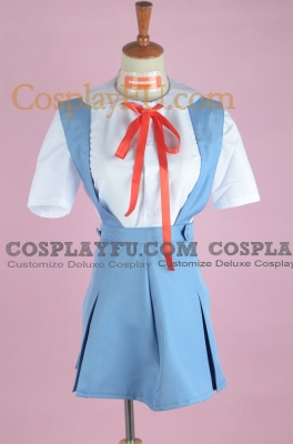 Rei Cosplay (School Uniform) from Neon Genesis Evangelion