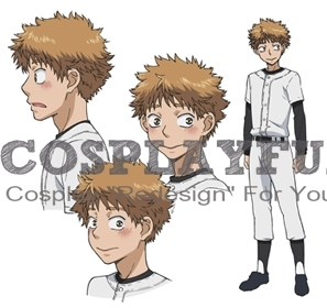 Ren Cosplay (Nishiura Baseball Team Uniform) from Big Windup