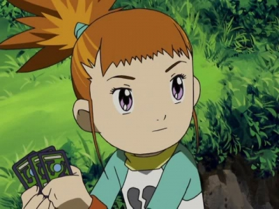 Rika Wig from Digimon Tamers
