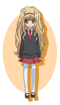 Rima Cosplay (School Uniform) from Shugo Chara