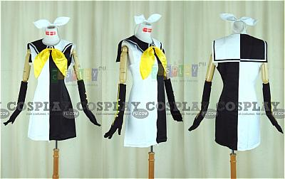 Rin Cosplay (Meltdown Version) from Vocaloid