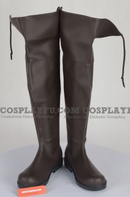 Rivaille Shoes (D179) from Attack On Titan