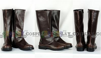 Roderich Shoes (Brown,Austria) from Axis Power Hetalia