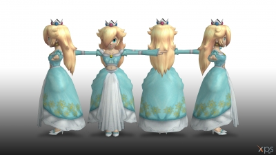 Rosalina Costume from Super Mario