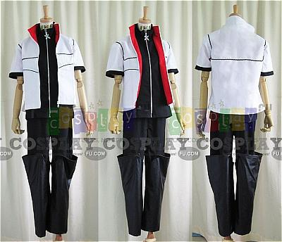 Roxas Cosplay Costume from Kingdom Hearts