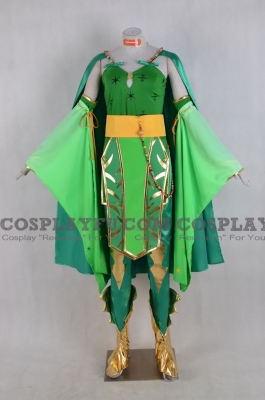 Rydia Cosplay from Final Fantasy 4