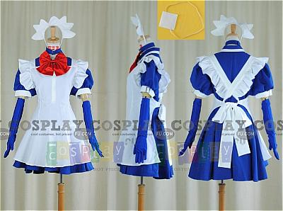 Ryomou Cosplay (Maid Costume) from Ikki Tousen