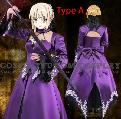 Saber Cosplay (Alter) from Fate Stay Night