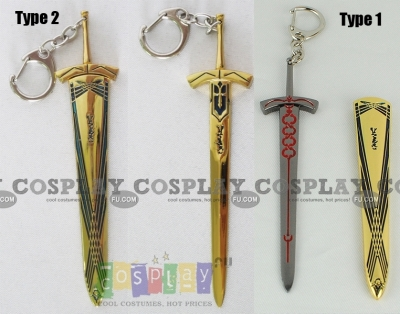 Saber Sword Key Ring from Fate Stay Night