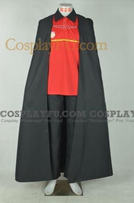 Sadao Cosplay (with Cloak) from Hataraku Maou sama