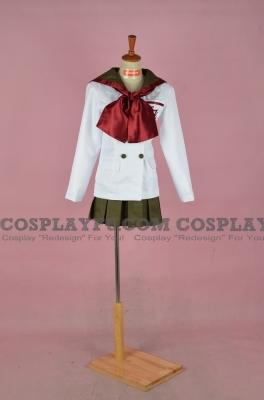 Sailor Mars Cosplay (School Uniform) from Sailor Moon