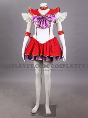 Sailor Mars Costume (D119) from Sailor Moon
