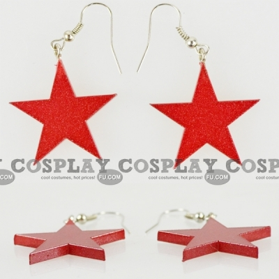 Sailor Mars Earrings (DJ92) from Sailor Moon