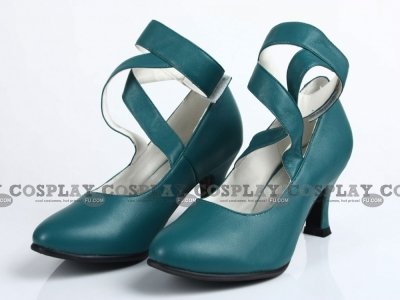 Sailor Neptune Shoes (CX13) from Sailor Moon