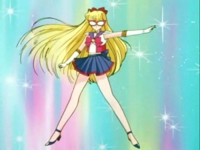 Sailor Venus Cosplay from Sailor Moon