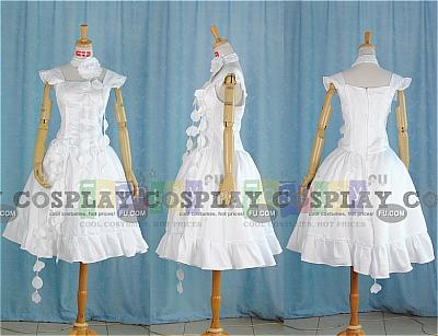 Sakura Cosplay (White Dress) from Tsubasa Reservoir Chronicle