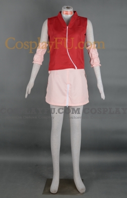 Sakura Haruno Cosplay (Stock) from Naruto Shippuuden