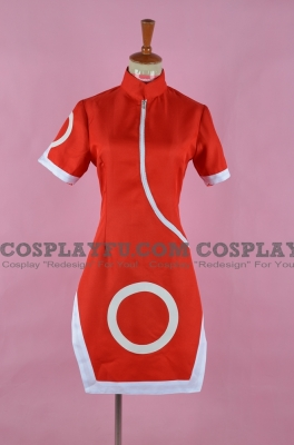 Sakura Haruno Cosplay Costume from Naruto