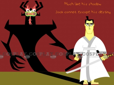 Jack Cosplay from Samurai Jack