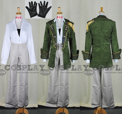 Sazh Cosplay (Customize) from Final Fantasy XIII