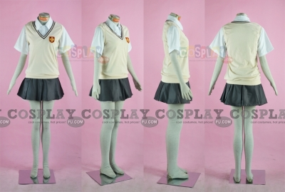 School Girl Uniform (Tokiwadai Middle School) from Toaru Kagaku no Railgun