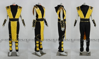 Scorpion Cosplay from Mortal Kombat