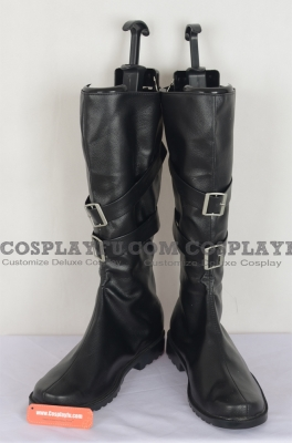 Sephiroth Cosplay Shoes from Final Fantasy