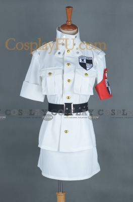 Seras Cosplay (White) from Hellsing