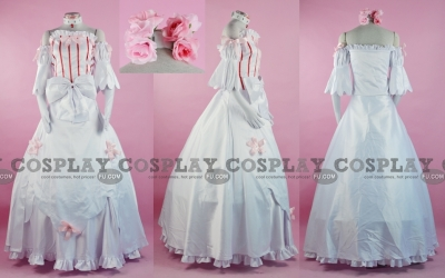 Sharon Costume (White) from Pandora Hearts