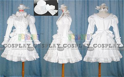 Sharon Costume (White Dress) from Pandora Hearts