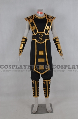 Yellow Jacket Shen Cosplay from League of Legends