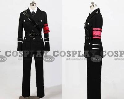 Shiki Cosplay (Uniform) from Togainu no Chi