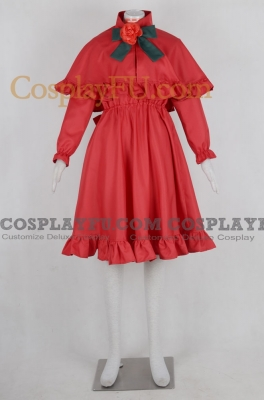 Shinku Cosplay Costume from Rozen Maiden