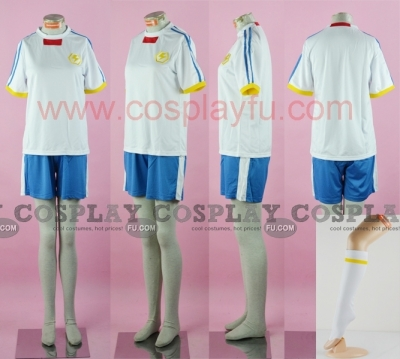 Shuya Cosplay (Inazuma Japan) from Inazuma Eleven