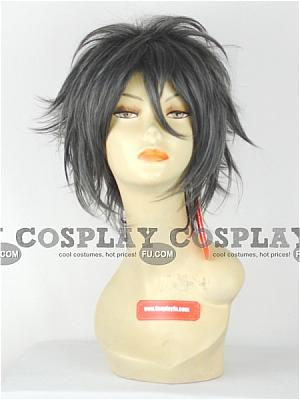 Silver Grey Mix Color Costume Wig (Carlos)