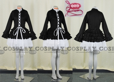 Simca Cosplay (Black) from Air Gear