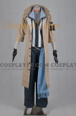 Snow Costume (Villiers) from Final Fantasy XIII