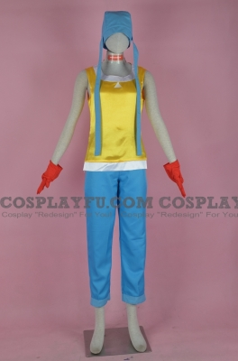 Sora Cosplay from Digimon Adventure