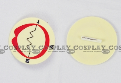 Soul Eater Accessories (Mouth Brooch) from Soul Eater