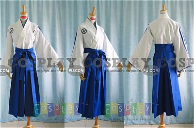 Renji Cosplay (Soul Reaper Academy Boy Uniform) from Bleach