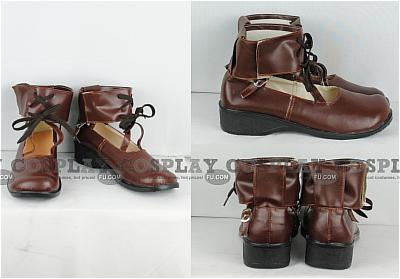 Souseiseki Shoes (Brown) from Rozen Maiden