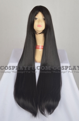 Straight Wig (Black,Long,100cm CF06)