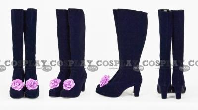 Suigintou Shoes (Dark Purple Flower) from Rozen Maiden