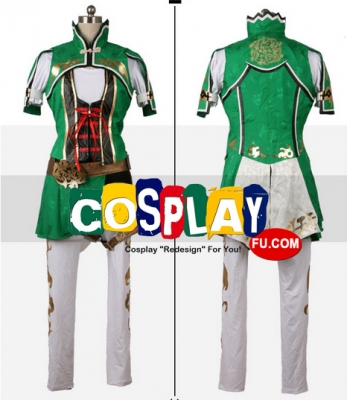 Sun Shangxiang Cosplay (Green) from Dynasty Warriors