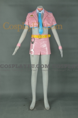 Super Sonico Cosplay (Space Police) from Nitro Super Sonic