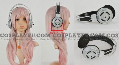 Super Sonico Headphone form Nitro Super Sonic