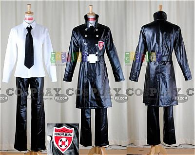 Superbia Squalo Varia Uniform Costume from Katekyo Hitman Reborn!