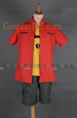 Takuya Cosplay from Digimon Adventure