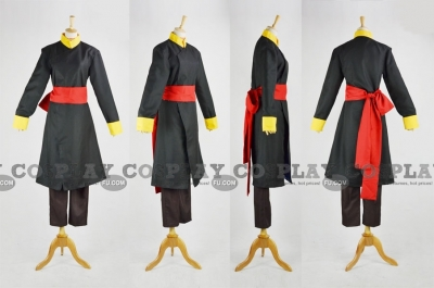 Tamahome Cosplay (Black) from Fushigi Yugi