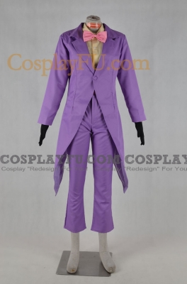 The Warden Cosplay from Superjail